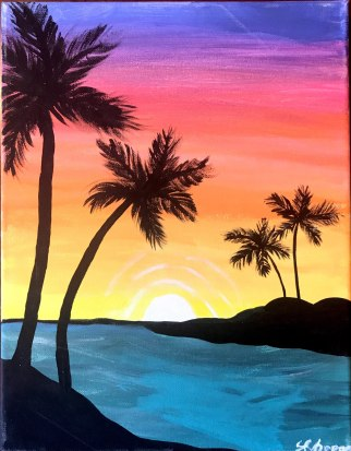 painted wino_Sunset